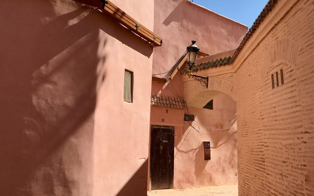 Tuhannen ja yhden yön (ja maton) Marrakech