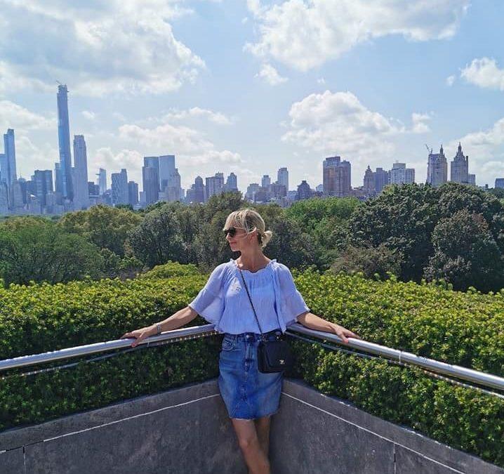 Ihan pähkinöinä New Yorkin kesässä